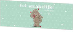 Onze collectie - kaart Servetring - Beertjes in LOVE 1270129