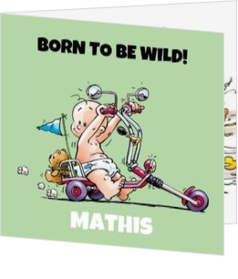 Stoer - kaart Born to be wild! 114288BA
